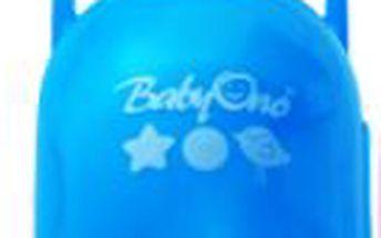Baby ono - box - krabička na dudlík ovál - modrá 046