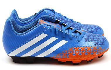 Pánské oranžovo-modré kopačky Adidas