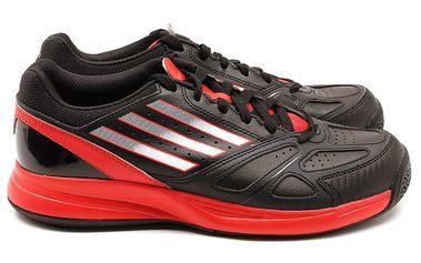 Pánské červeno-černé tenisky Adidas