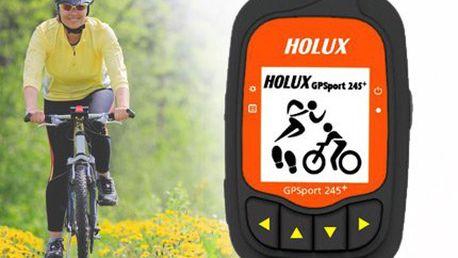 Vychytaný cyklopočítač HOLUX GPSport 245+