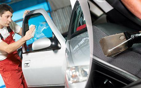 Kompletní čištění interiéru auta nebo dodávky