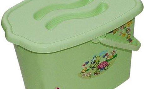 TEGA univerzální kyblík - kbelík na pleny - zelený