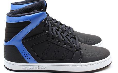 Pánské černé kotníkové tenisky Adidas