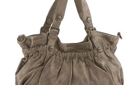 Dámská kabelka v barvě taupe Amylee