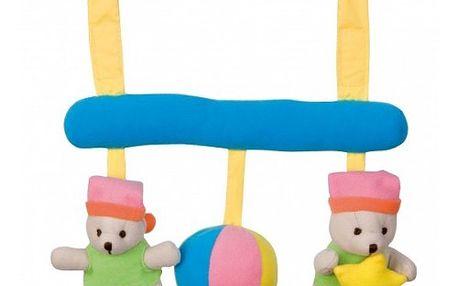 Canpol Babies - hrazdička na kočárek - chrastítko na zavěšení - modré