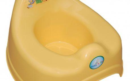 TEGA Baby Dětský nočník Safari hrající - žlutý