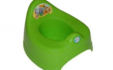 TEGA Baby Dětský nočník Safari hrající - zelený
