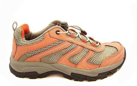 Dámská treková obuv v oranžovém provedení Numero Uno