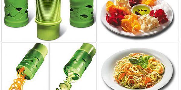 Nástroj na zpracování ovoce a zeleniny - vytvořte si z vitamínů dekoraci!