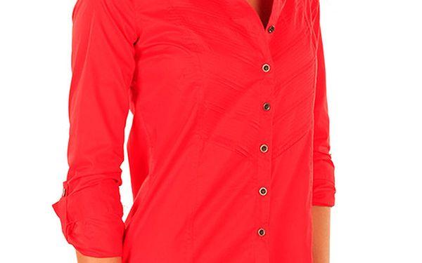 Dámská červená košile New Caro