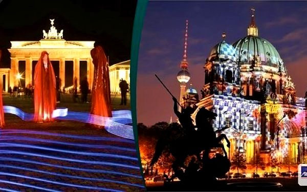 Nenechte si ujít neopakovatelný zážitek Festival světel v Berlíně - 11.10.2014, odjezd z Prahy a Ústí n.L.