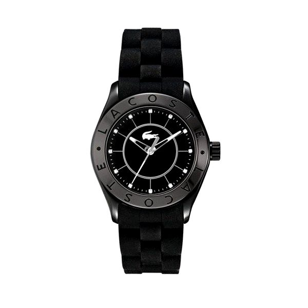 Pánské hodinky v černé barvě Lacoste