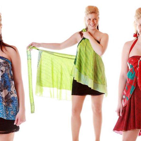 Vázací sukně Magic Skirt ve třech délkách s poštovným v ceně