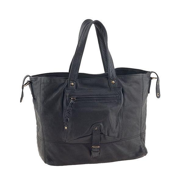 Dámská černá kabelka s kapsou Amylee