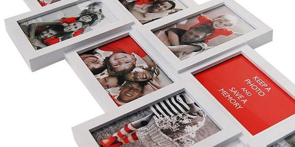 Velký multi-fotorámeček na 10 fotografií - zarámujte si své nejmilejší!