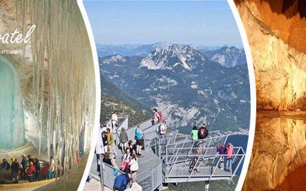 """Dachstein - vyhlídka """"Pět prstů"""" a Mamutí jeskyně"""