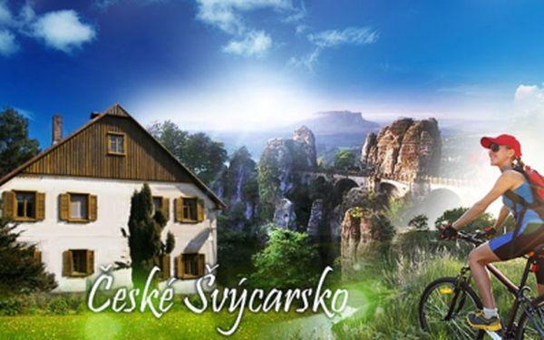 Báječná dovolená v Českém Švýcarsku již od 1190 Kč! Ubytování na 3, nebo 4 DNY pro 2 OSOBY v krásném prostředí rodinného domu Salmov! Vychutnejte si jedinečné přírodní scenérie! Ideální pro cykloturistiku, rybaření a výlety!