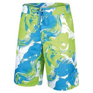 Pánské zeleno-modré šortky Alpine Pro