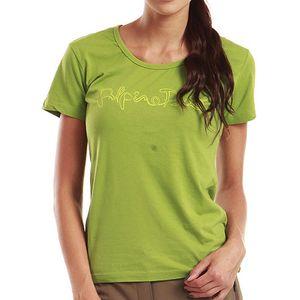 Dámské zelené tričko s krátkým rukávem Alpine Pro