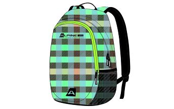 Batoh s barevně kostkovaným vzorem Alpine Pro