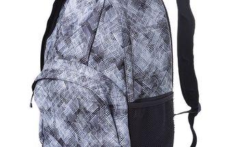 Šedo-bílý batoh se vzorem Alpine Pro