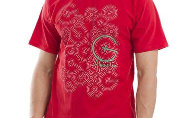 Pánské červené tričko s krátkým rukávem Alpine Pro