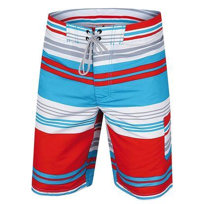 Pánské pruhované šortky Alpine Pro