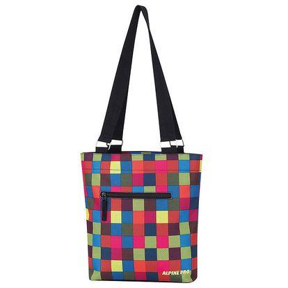 Dámská barevně kostkovaná kabelka Alpine Pro