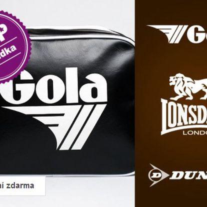 Výprodej sportovních tašek Dunlop, Gola a Lonsdale