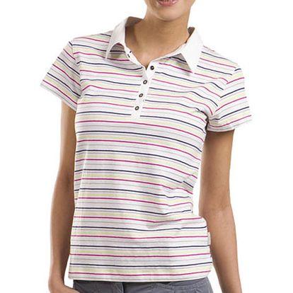 Dámské pruhované polo tričko Alpine Pro