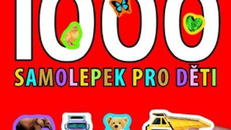 1000 samolepek pro děti - 14x17