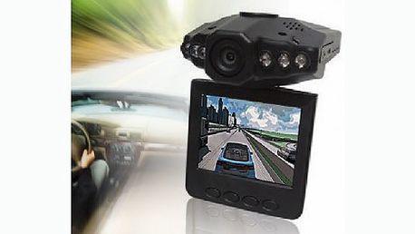 Přenosná kamera do auta a interiérů! Kameru stačí připevnit na čelní sklo a mít tak veškeré dění v HD kvalitě monitorováno!