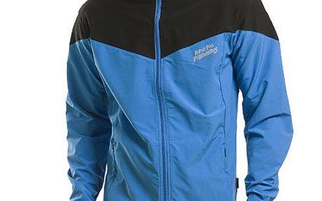 Pánská modro-černá bunda Alpine Pro
