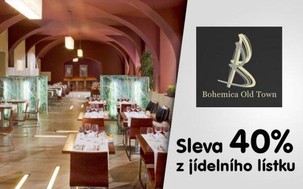 40% sleva v restauraci Bohemica Old Town
