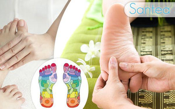 40 minut reflexní terapie plosek nohou