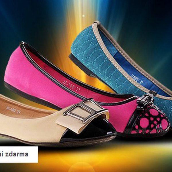 Výprodej dámské letní obuvi