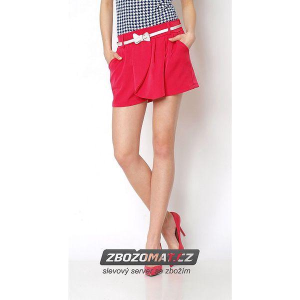 Kalhotová sukně s páskem - pohodlná elegance!