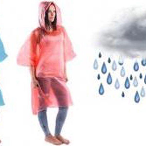 Kapesní pláštěnka - Pončo