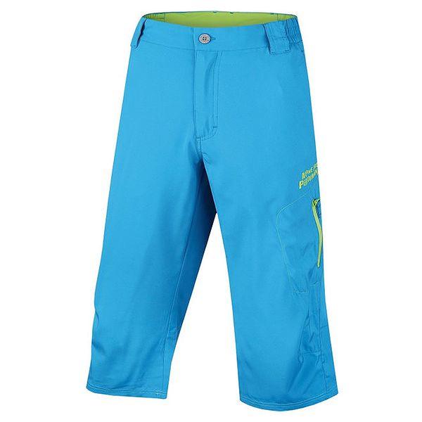 Pánské modré delší kraťasy Alpine Pro