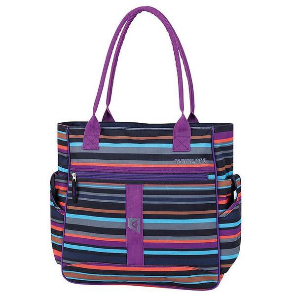 Dámská barevně pruhovaná kabelka Alpine Pro