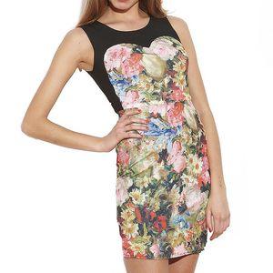 Dámské květované šaty bez rukávů Angel Eye