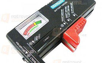 Univerzální tester baterií a poštovné ZDARMA! - 25003109