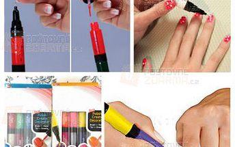 Oboustranná tužka na nehty - 3 kusy v různých barvách a poštovné ZDARMA! - 24612767