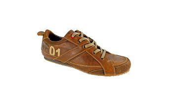 Pánské hnědé kožené boty Red Hot