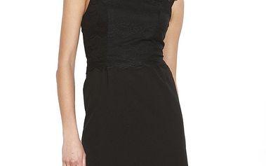 Dámské černé šaty s krajkou Angel Eye