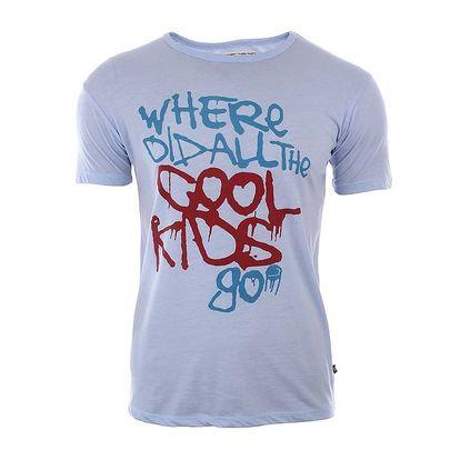Pánské tričko s barevným nápisem River Rock
