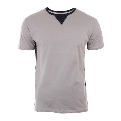 Pánské světle béžové tričko s krátkým rukávem River Rock
