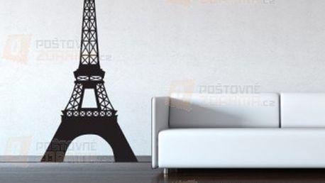 Samolepka na zeď - Eiffelova věž a poštovné ZDARMA! - 24412722