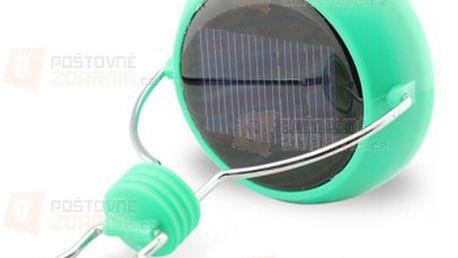 Solární svítící koule s praktickým háčkem pro snadné zavěšení a poštovné ZDARMA! - 24412764