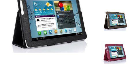 Kožené pouzdro na Samsung Galaxy Tab P5100